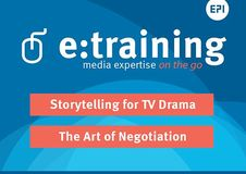 e:course | The Art of Negotiation | Storytelling for TV Drama 2018